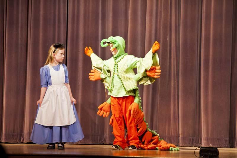 Alice in Wonderland at Nayatt