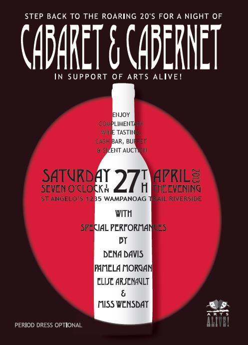 Cabaret Cabernet At St Angelo S Arts Alive Barrington